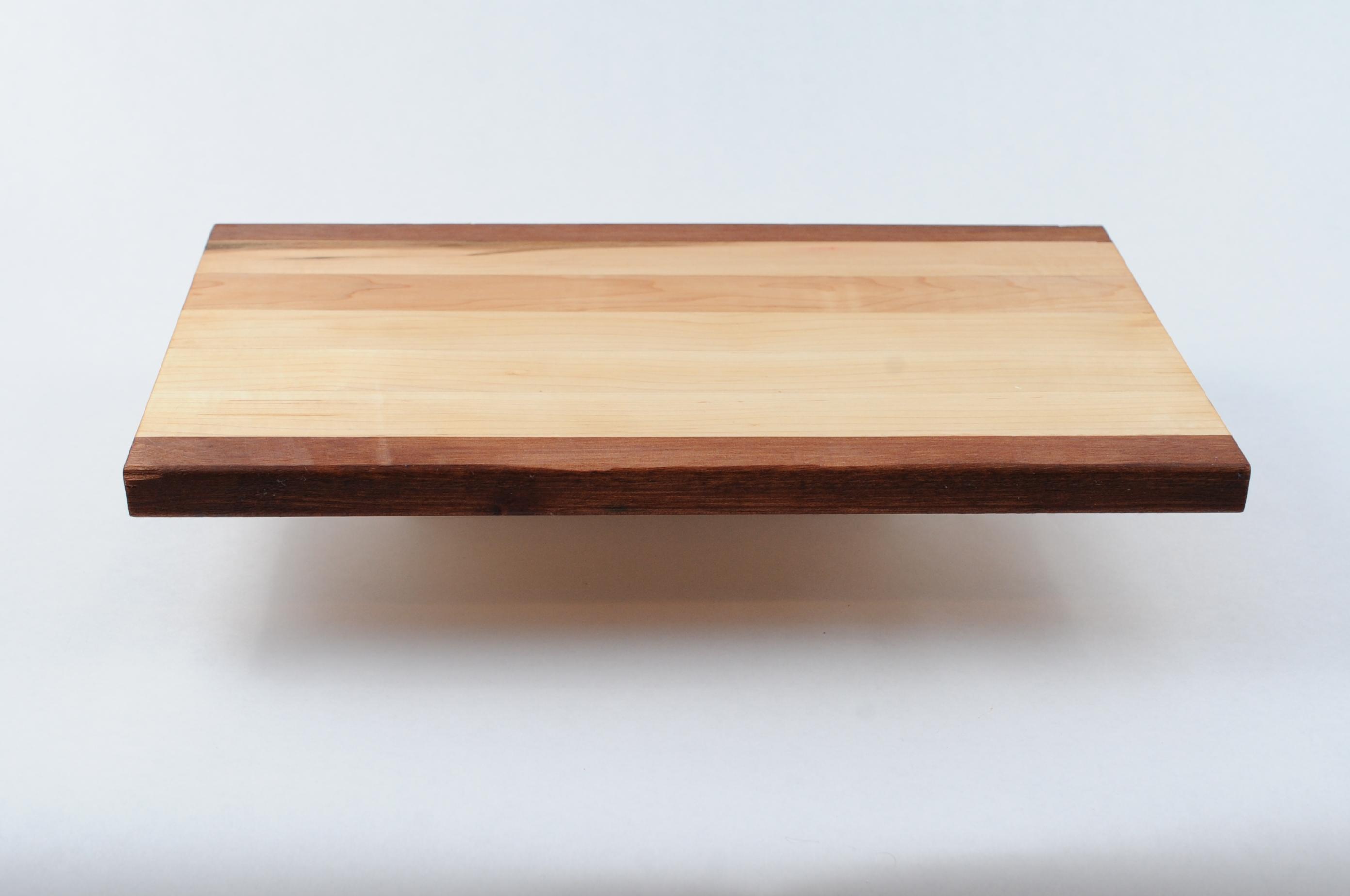 Simple modern natural maple edge grain cutting board for Simple edge